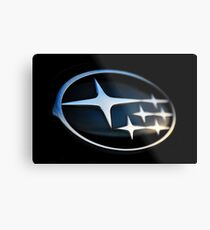 Subaru Badge Metal Print