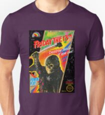 NES Friday the 13th Distressed Cover T-Shirt