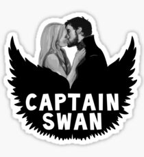 Once Upon a Time - Captain Swan Sticker