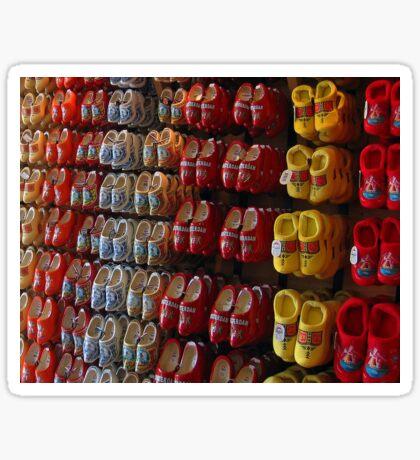 Clogs in Colour Sticker