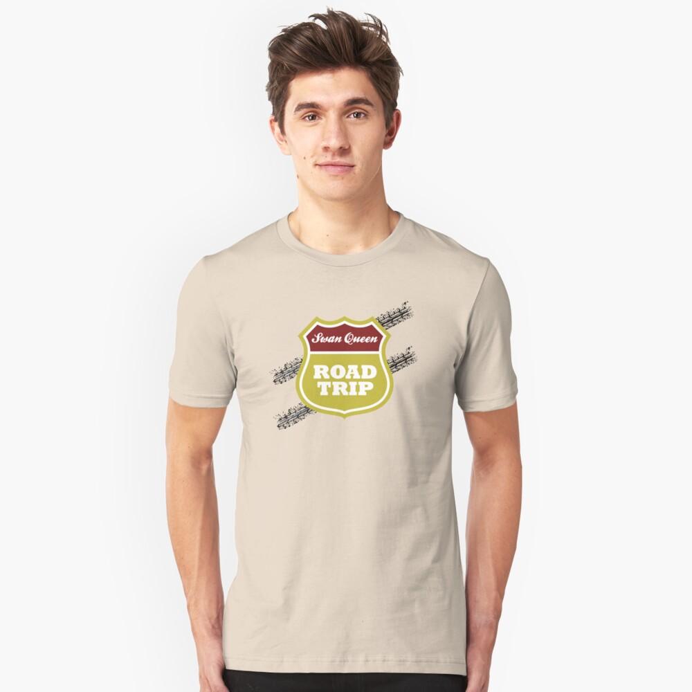 Swan Queen Road Trip Unisex T-Shirt Front