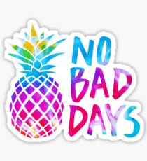 No Bad Days (tie dye) Sticker