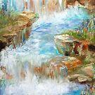 Meditation Falls by Alma Lee