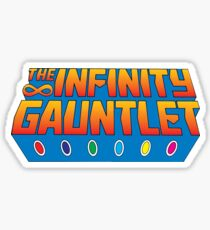 Infinity Gauntlet - Classic Title - Clean Sticker