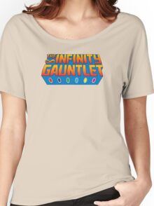 Infinity Gauntlet - Classic Title - Clean Women's Relaxed Fit T-Shirt