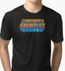 Infinity Gauntlet - Classic Title - Clean Tri-blend T-Shirt
