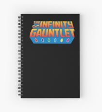 Infinity Gauntlet - Classic Title - Clean Spiral Notebook