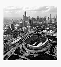 Above Chicago Photographic Print