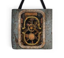 Infernal Steampunk Vintage Machine #1 Tote Bag