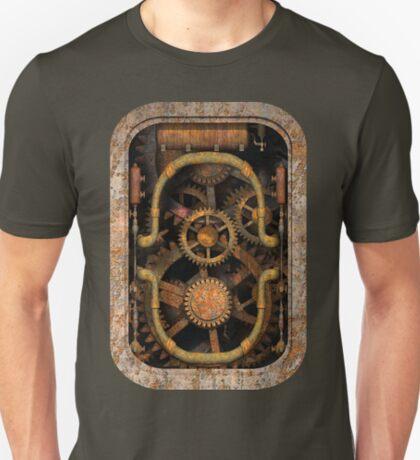 Infernal Steampunk Vintage Machine #1 T-Shirt