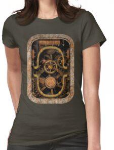 Infernal Steampunk Vintage Machine #1 Womens Fitted T-Shirt
