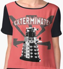 EXTERMINATE! Women's Chiffon Top