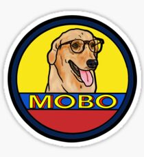 Modern Baseball Dog Sticker