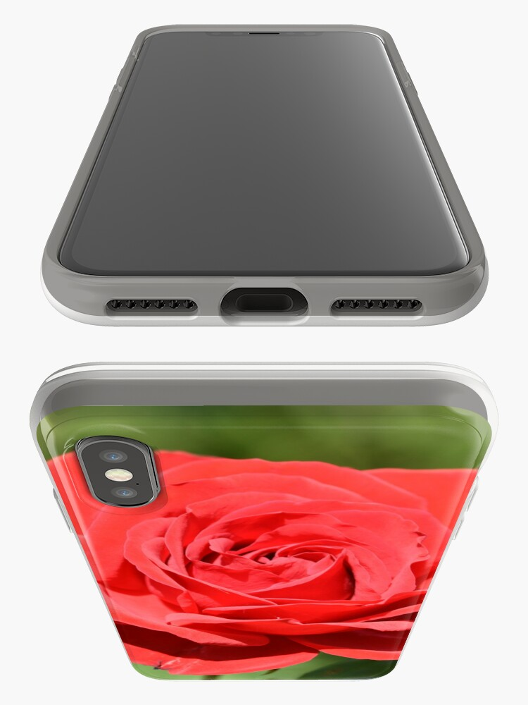 Alternate view of Red Rose iPhone Case & Cover