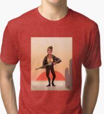 Rockabilly Retribution Tri-blend T-Shirt