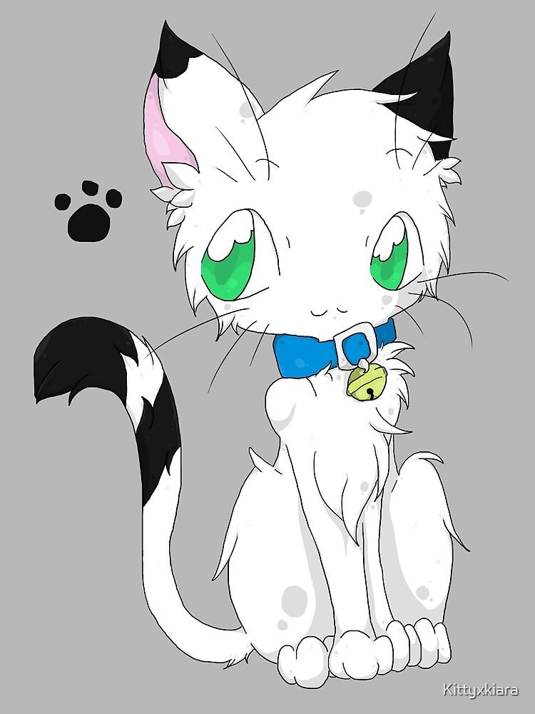 Buchi the white fur Cat by Kittyxkiara