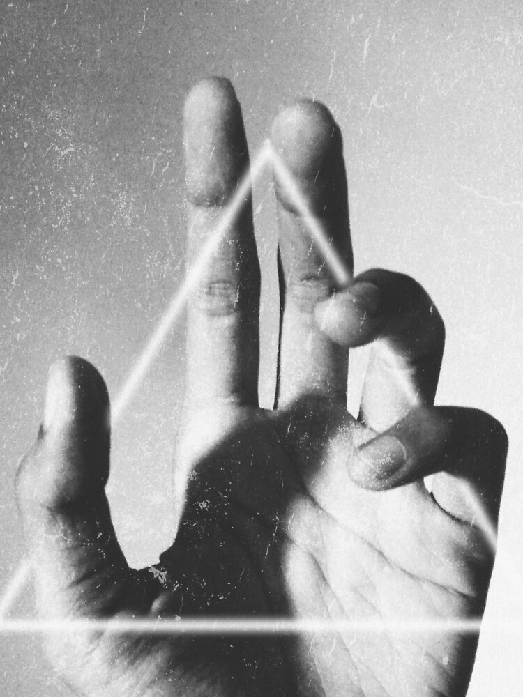 hand + triangle by sublimenation