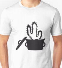 Eat Well saucepan cook restaurant desert cactus survive survival hungry T-Shirt