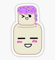 Marshmallow Sticker