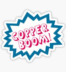 Copper BOOM! Sticker