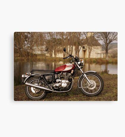 Triumph T160 Trident Canvas Print