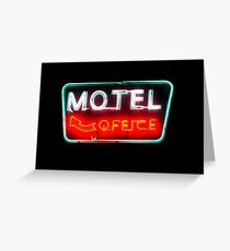motel office Greeting Card