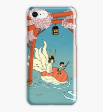 Through the flood iPhone Case/Skin