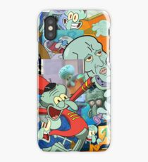 A Jumble of Squidwards iPhone Case/Skin