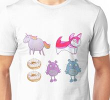 Bento box of Creatures Unisex T-Shirt