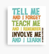 education quotes canvas prints redbubble