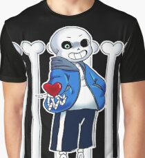 """Undertale - Sans """"Get Dunked On"""" Graphic T-Shirt"""