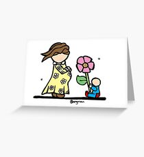 Little Ones - For Mum! Greeting Card