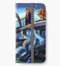 Scabb Island Panorama (Monkey Island 2)  iPhone Wallet/Case/Skin