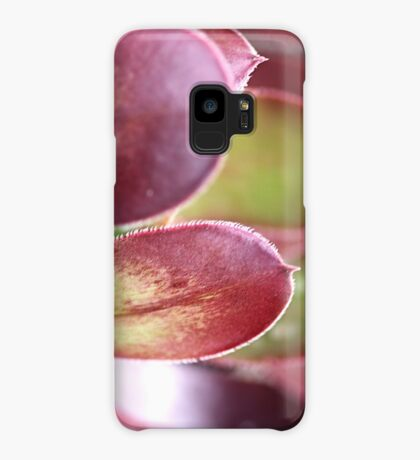 Purple Aeonium Case/Skin for Samsung Galaxy