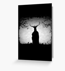 Herne The Hunter Appears Greeting Card