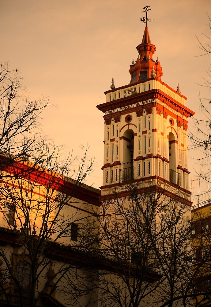 Sunset in Seville - San Roque by Andrea Mazzocchetti