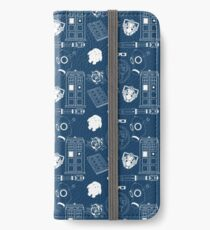 Wibbly wobbly... stuff iPhone Wallet/Case/Skin