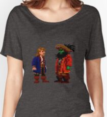 Guybrush & LeChuck (Monkey Island 2) Women's Relaxed Fit T-Shirt