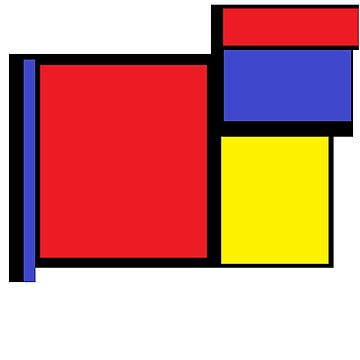 Tribute to 80's Mondrian by GlesgaGeek