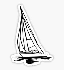 Sailingboat Sticker