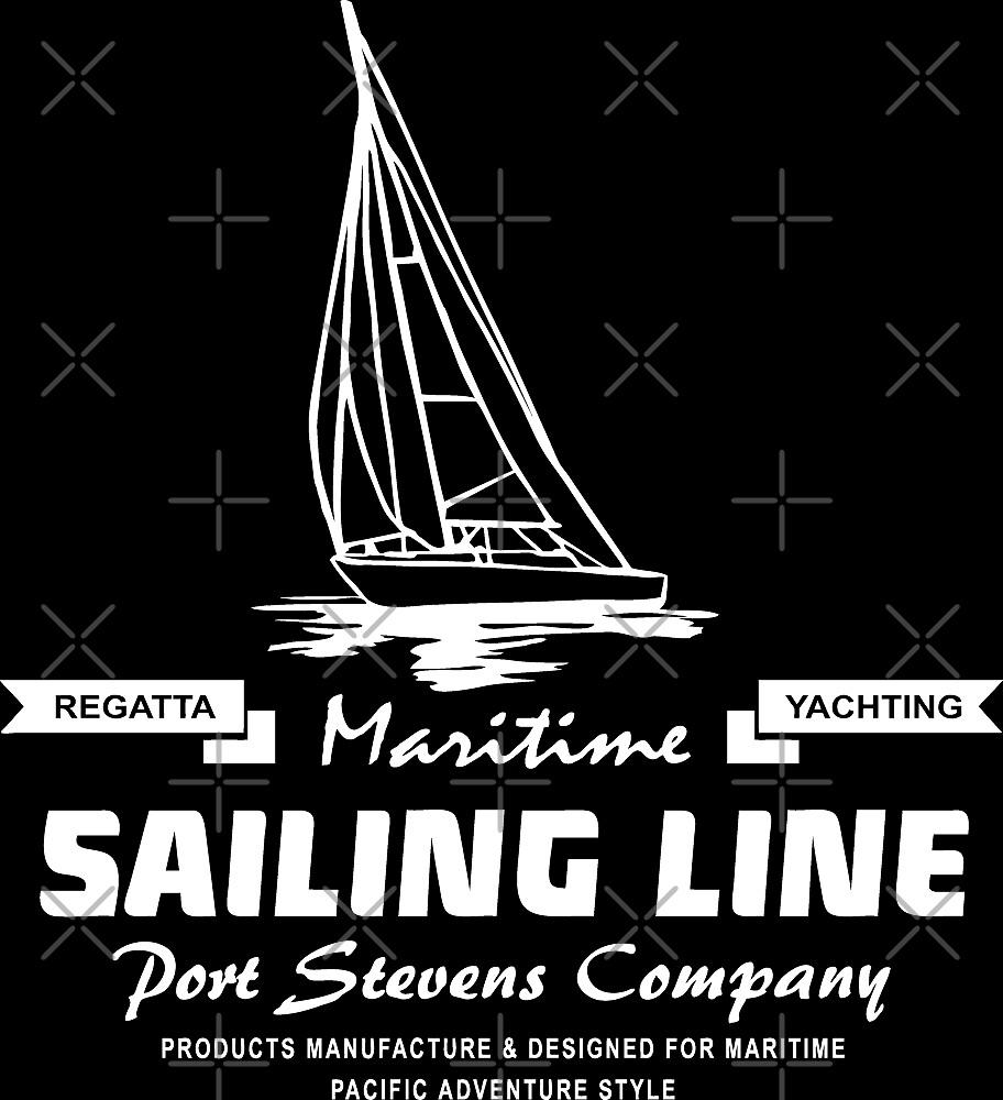 Maritime Sailing Line – Sailingboat by Port-Stevens