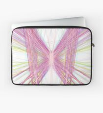 Linify Pink butterfly Laptop Sleeve