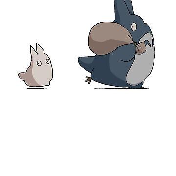 Tororo's friends by mec900