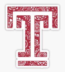 Temple Doodle Sticker