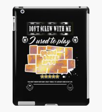 We not psycho, but we used to. iPad Case/Skin