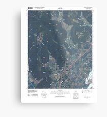 USGS TOPO Map Alabama AL Doran Cove 20100510 TM Metal Print