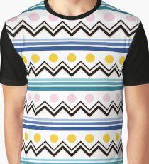 Mountain Pattern Graphic T-Shirt