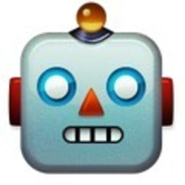Robot face emoji by neilpaul