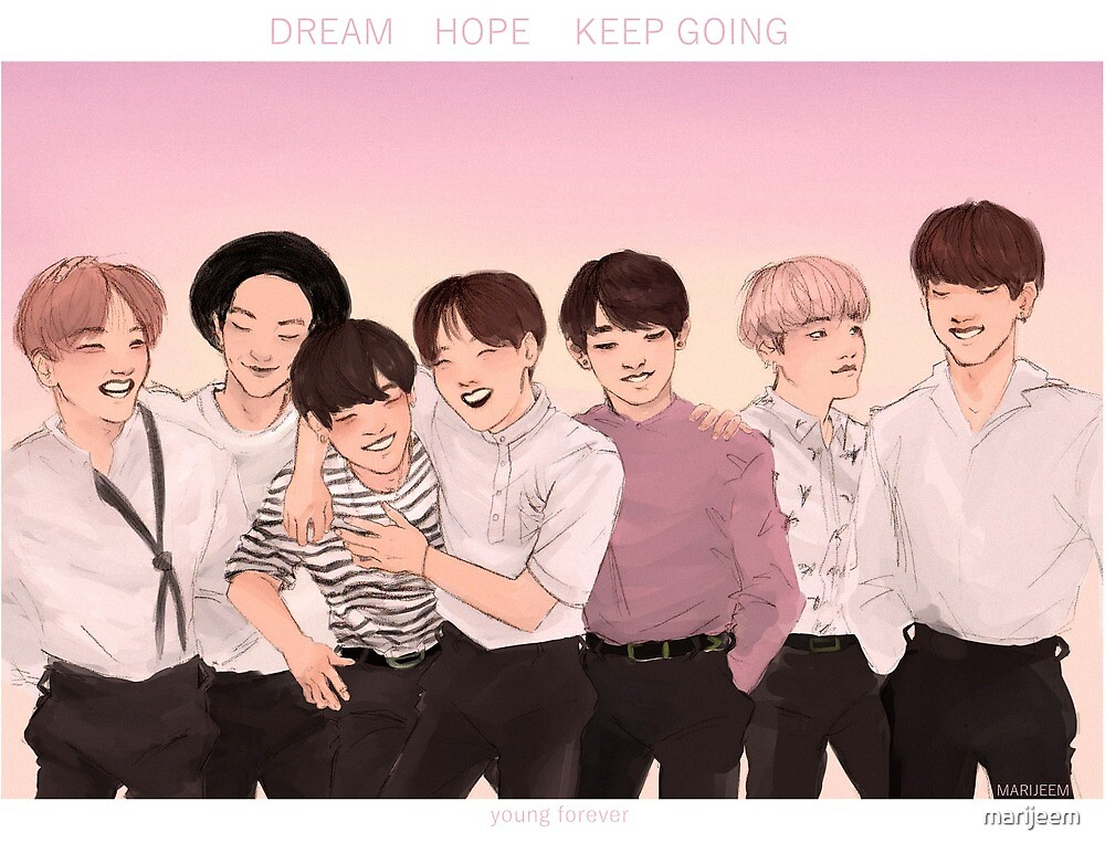 bts young forever nation by marijeem
