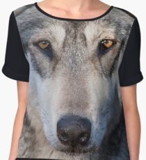 Timber Wolf Women's Chiffon Top